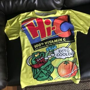 90s graphic T-shirt ecto cooler vintage funny